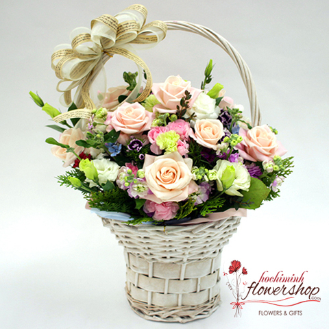 Love flowers free shipping in Hochiminh