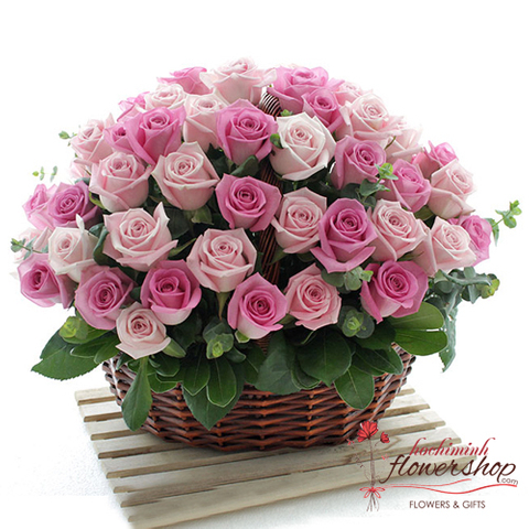 Hochiminh flower shop free delivery District 1