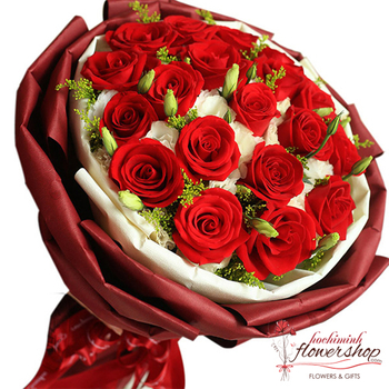 Love flowers for girlfriend in Hochiminh city