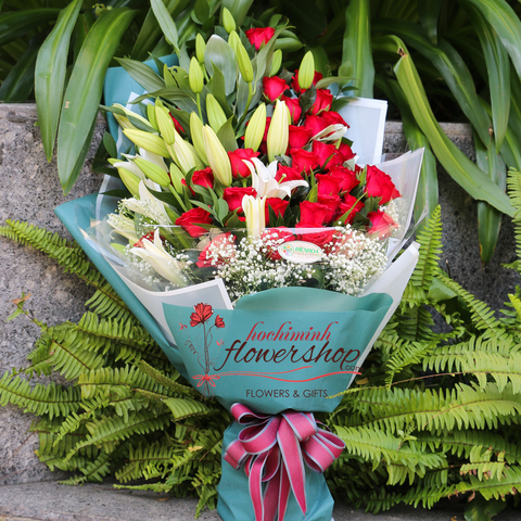 Flowers for birthday in Hochiminh city