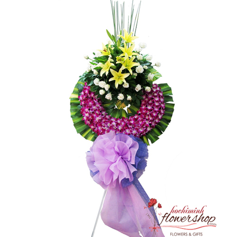 Hochiminh sympathy flowers delivered