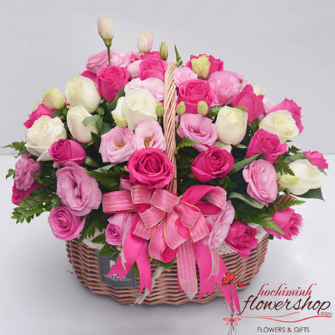 Buying birthday flowers online in HCM city