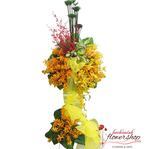 Hochiminh congratulation flowers same day delivery