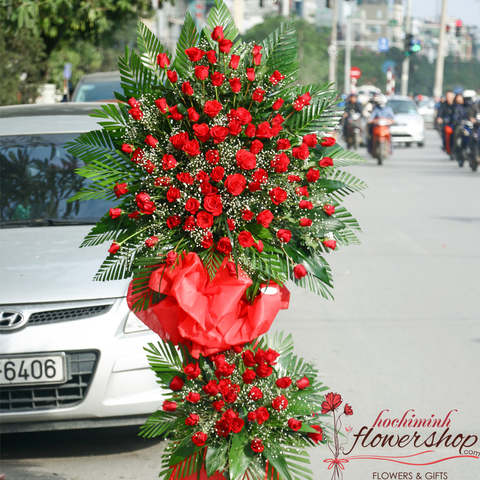 Grand opening flowers Hochiminh city