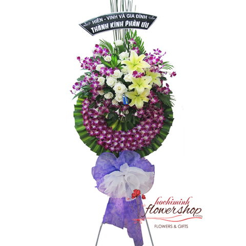 Hochiminh funeral flowers free delivery