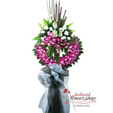 Hochiminh sympathy flowers next day delivery