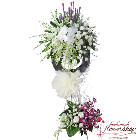 Send sympathy flowers to Hochiminh online
