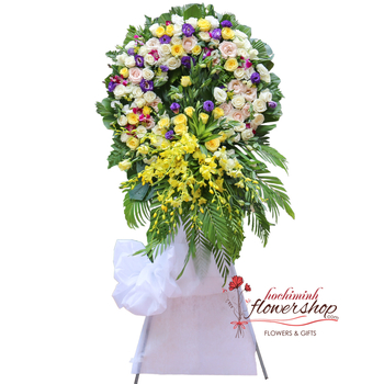 Hochiminh sympathy flowers delivery