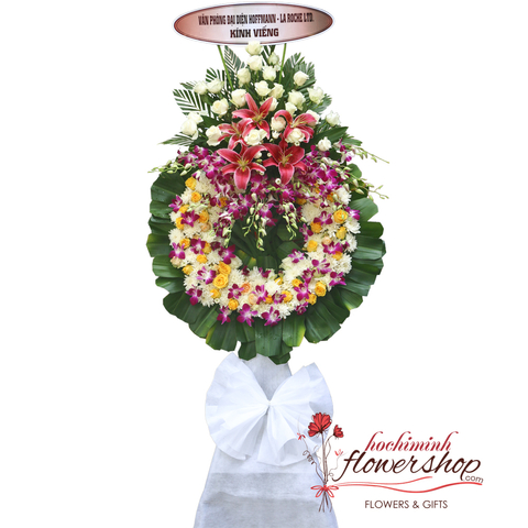 Send sympathy flowers to HCMC