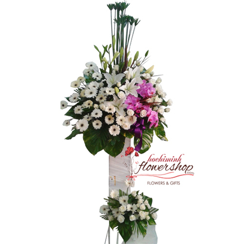 Funeral flowers delivered Hochiminh