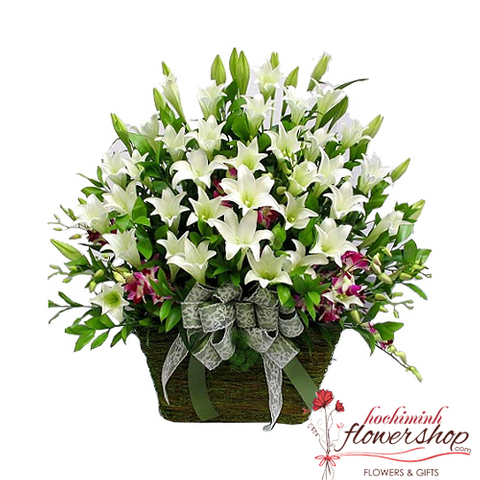 Flower delivery service in Hochiminh
