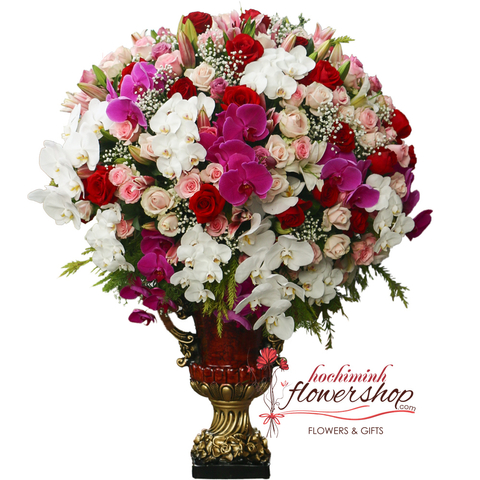 Flower shop delivery District 1 Hochiminh city
