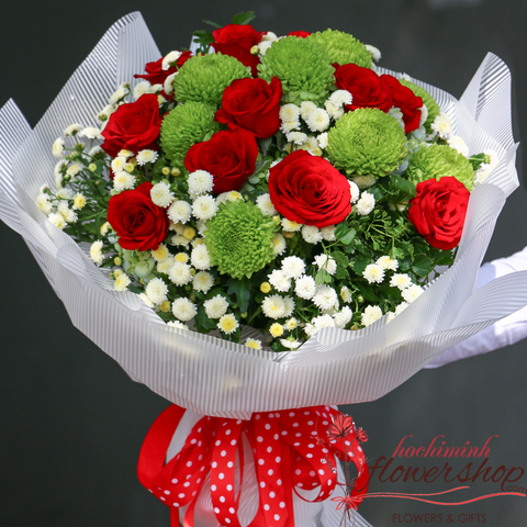 Flowers delivery to Hochiminh Vietnam