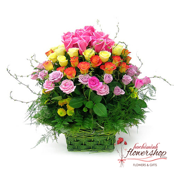Free delivery flowers to District 5 Hochiminh
