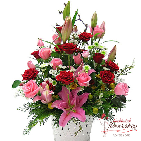 Send love flowers to ThuDuc District