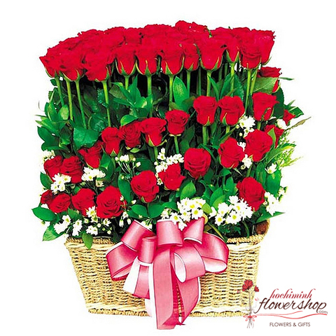Buy 99 red rose in hochiminh