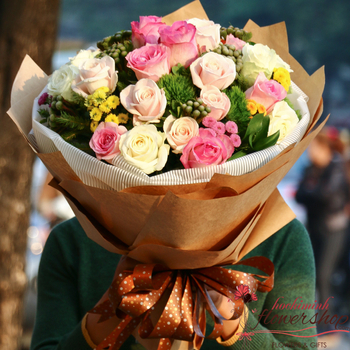 Bouquet flowers for delivery to Hochiminh city