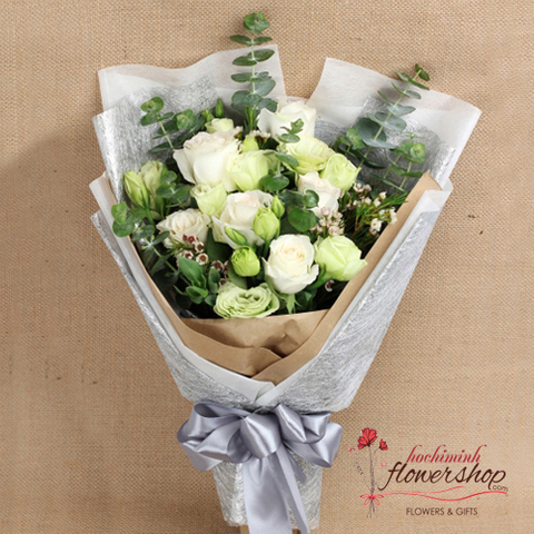 Bouquet flower delivery sameday in district 1