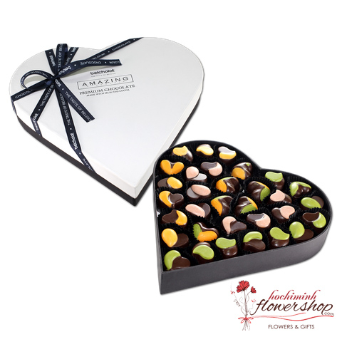 Valentine's Day Chocolate Heart Box HCM
