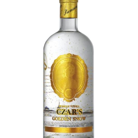 Vodka Czar's Gold Snow Wine