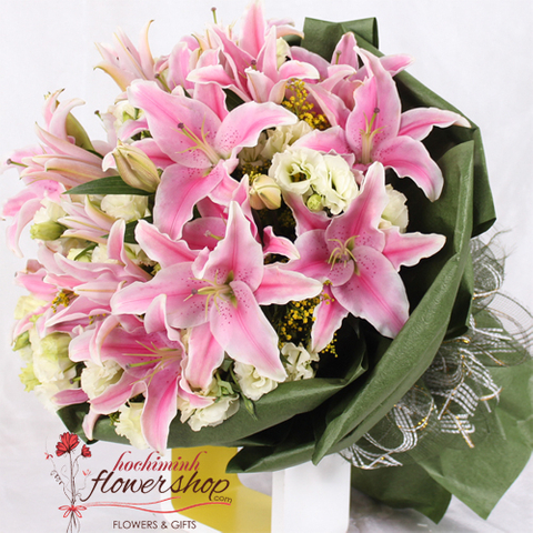 Best flower shop in Hochiminh