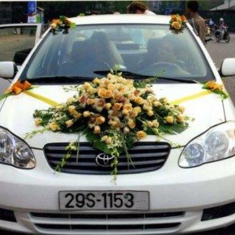 XH002-Wedding Flower Car