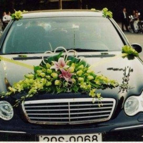 XH005-Wedding Flower Car