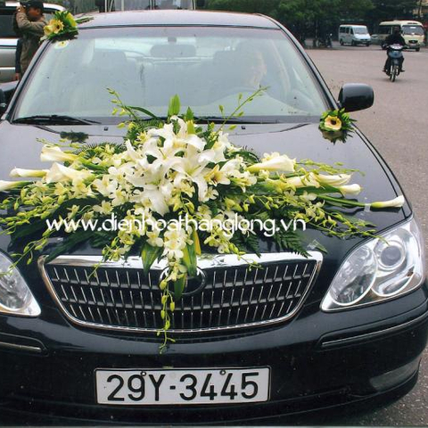 XH009-Wedding Flower Car