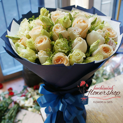 Birthday flowers and gifts to Hochiminh city