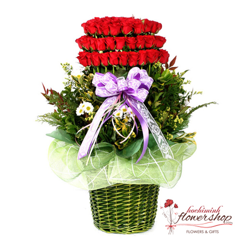 99 roses special arrangement delivery same day