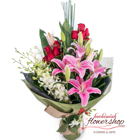 Birthday flowers and gifts delivered Hochiminh city