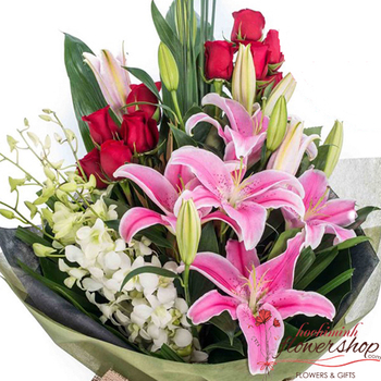 Birthday flowers and gifts delivered Hochiminh city Vietnam
