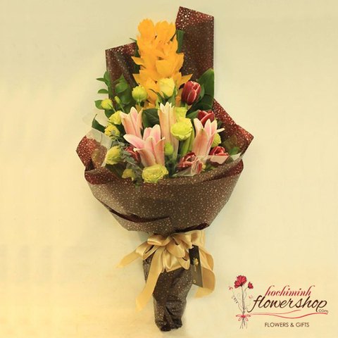 Orchid flower gifts for female boss