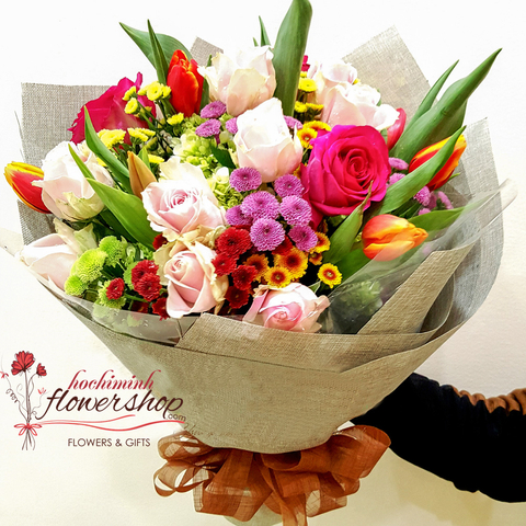 Hochiminh birthday flowers meaning