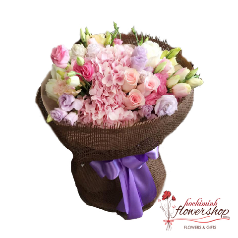 Sweet flowers bouquet for loving