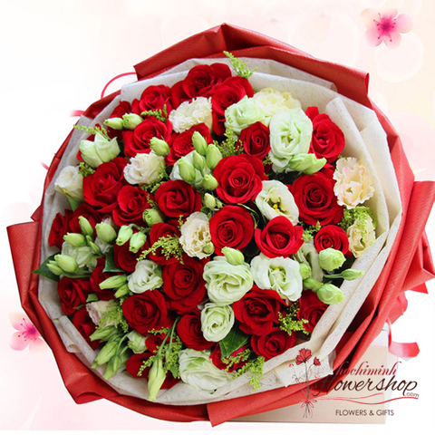 Bouquet flowers for birthday in HCM Vietnam