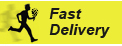 Fast delivery (from 1 to 2 hours) for urgent orders
