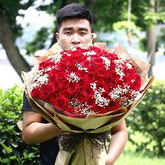 99 roses delivered Hochiminh city