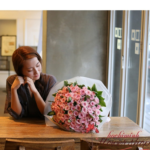 Send birthday flowers to Hochiminh city Vietnam