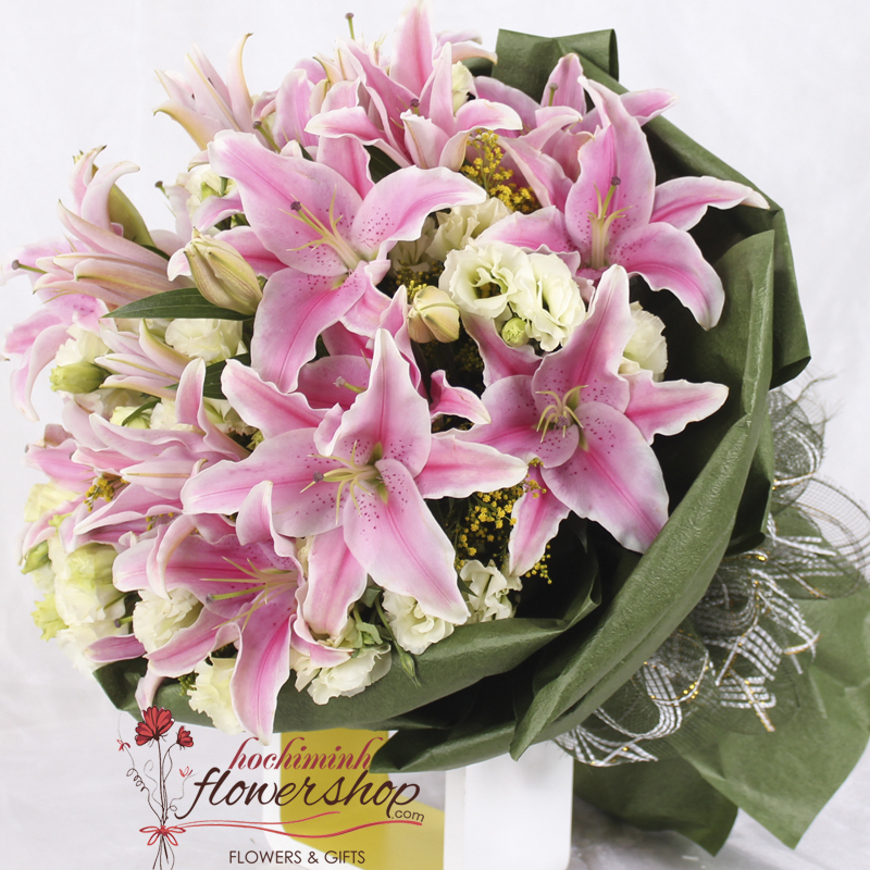 Best flower shop in Hochiminh city free shipping