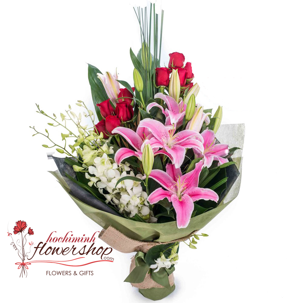 Birthday Flowers And Gifts Delivered HCMC