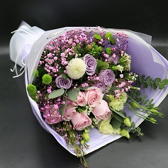 Flower bouquet delivered HCMC