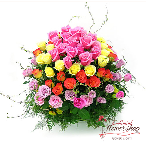 Free delivery flowers to District 5 Hochiminh flower shop online