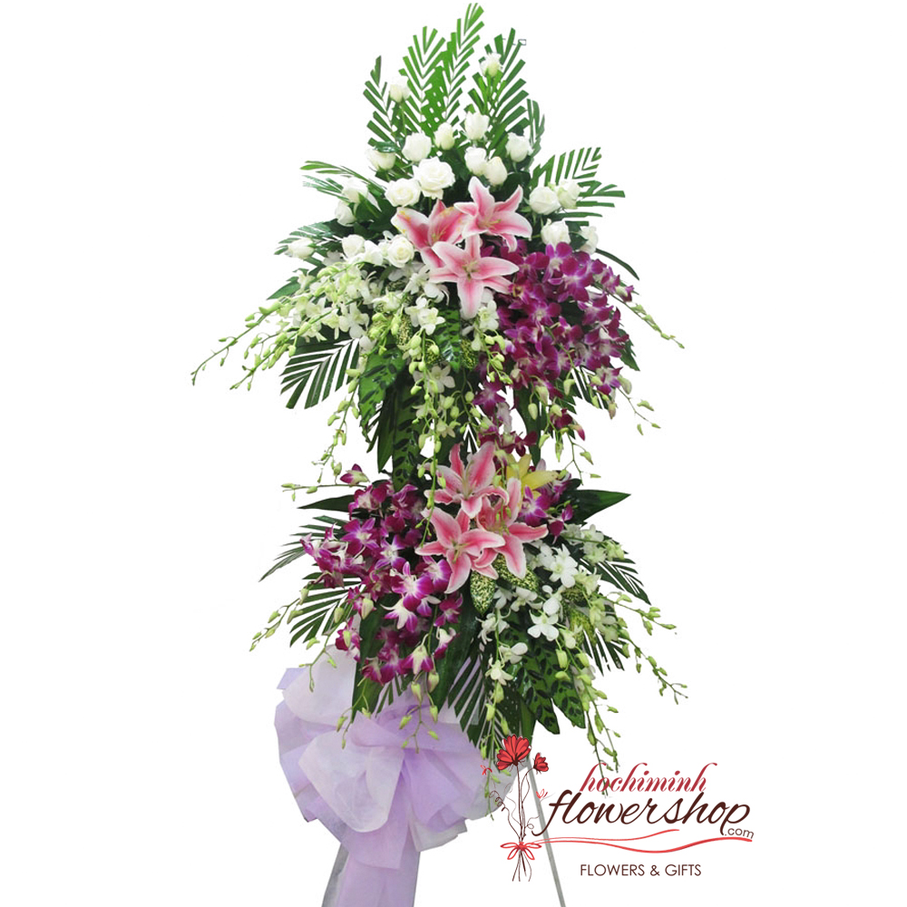 Funeral flowers delivery Tanbinh District HCM city Vietnam
