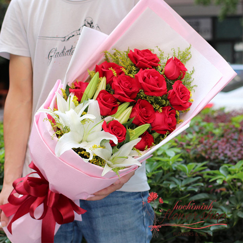 Hochiminh birthday flowers for your lover