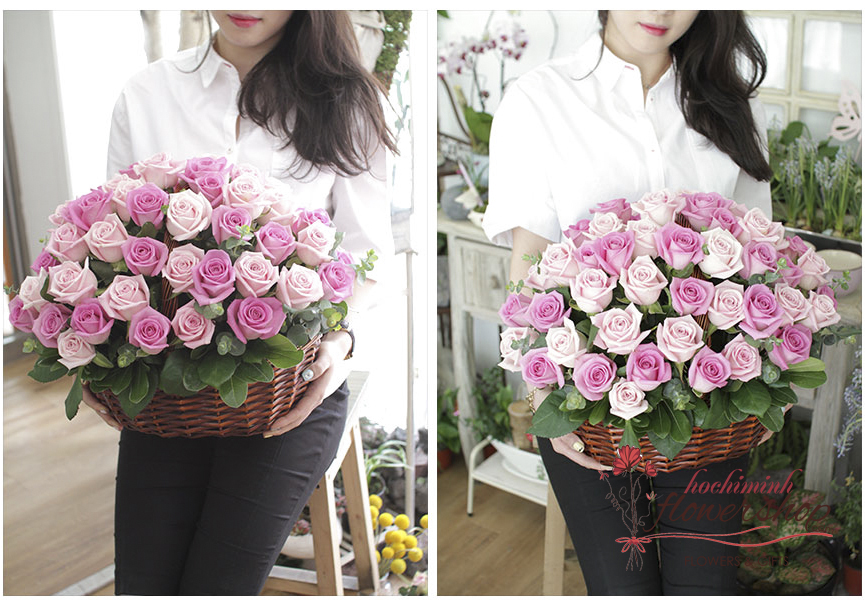 Vietnam flowershop free delivery District 7 free shipping