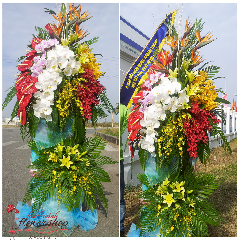 Opening ceremony flowers in Hochiminh city free ship