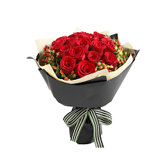 Rose bouquet delivered Hochiminh city