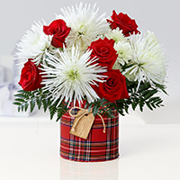Saigon Christmas flowers same day delivery