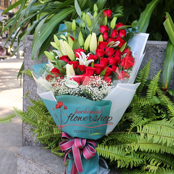 Send flowers online to Ho chi minh Vietnam